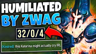 #1 XERATH WORLD EMBARRASSES KATARINA TWO GAMES IN A ROW (UNINSTALLED) - League of Legends