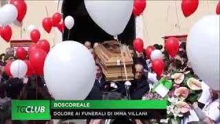 In centinaia per i funerali di Imma Villani, uccisa dal marito