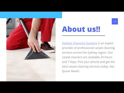 Get The Best and Professional Carpet Cleaning Services in Sydney   Sydney Cleaning Support