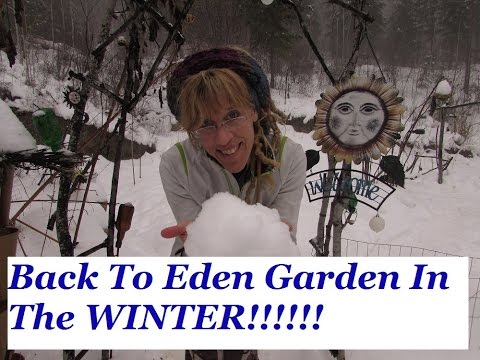 Back To Eden Garden In The Winter!!!!