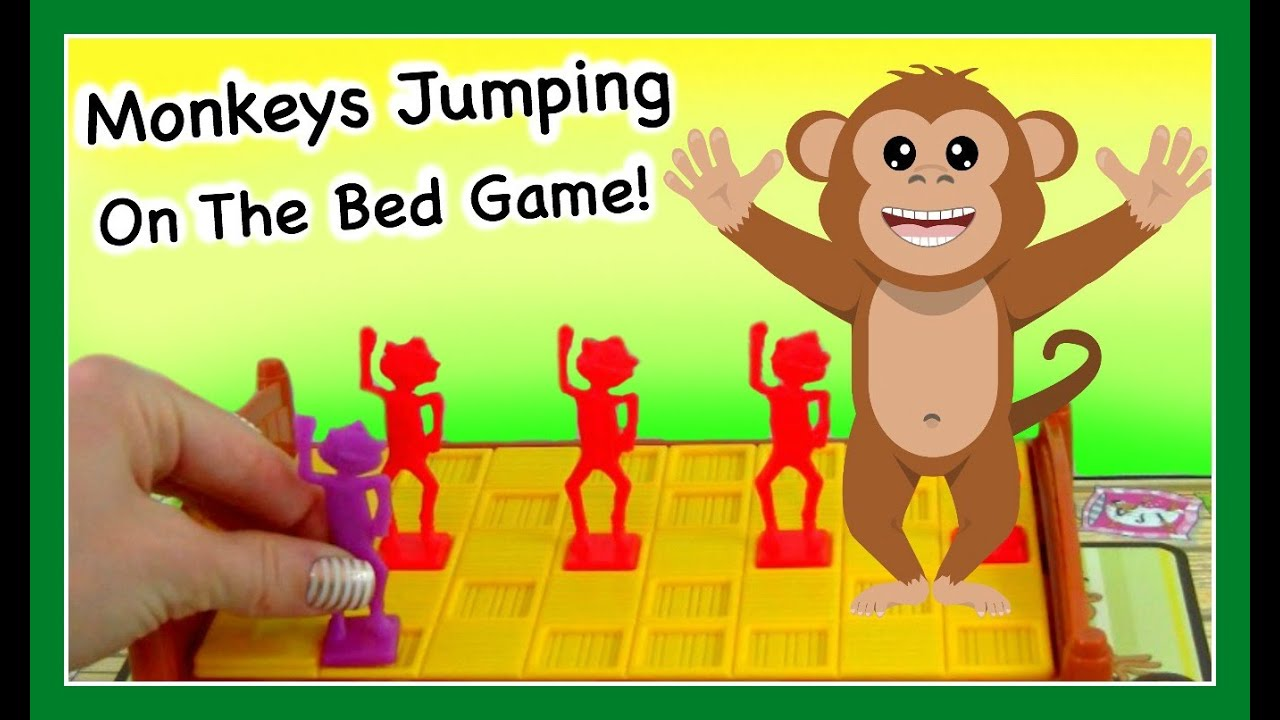 Monkeys Jumping On The Bed Game Fun Board Game For Kids Youtube