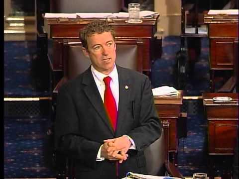 030613 - Sen. Rand Paul Senate Filibuster HOUR 4