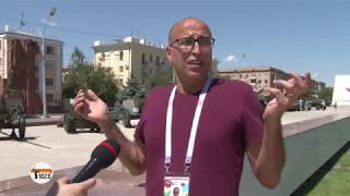 Болельщик из Иордании: теперь я буду отдыхать только в России - в Волгограде