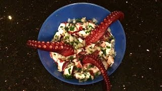 Бокельский салат из осьминога ОЧЕНЬ ВКУСНЫЙ!