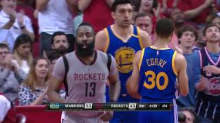 Repeat youtube video Stephen Curry Scores 32 James Harden gets a Triple Double in Houston! | March 28, 2017