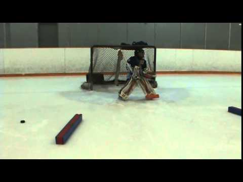 Flyers Goalie Training Blake Video 1