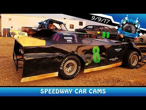#8 Tyler Dotson - A-Hobby - 9-9-17 Fort Payne Motor Speedway - In Car Camera