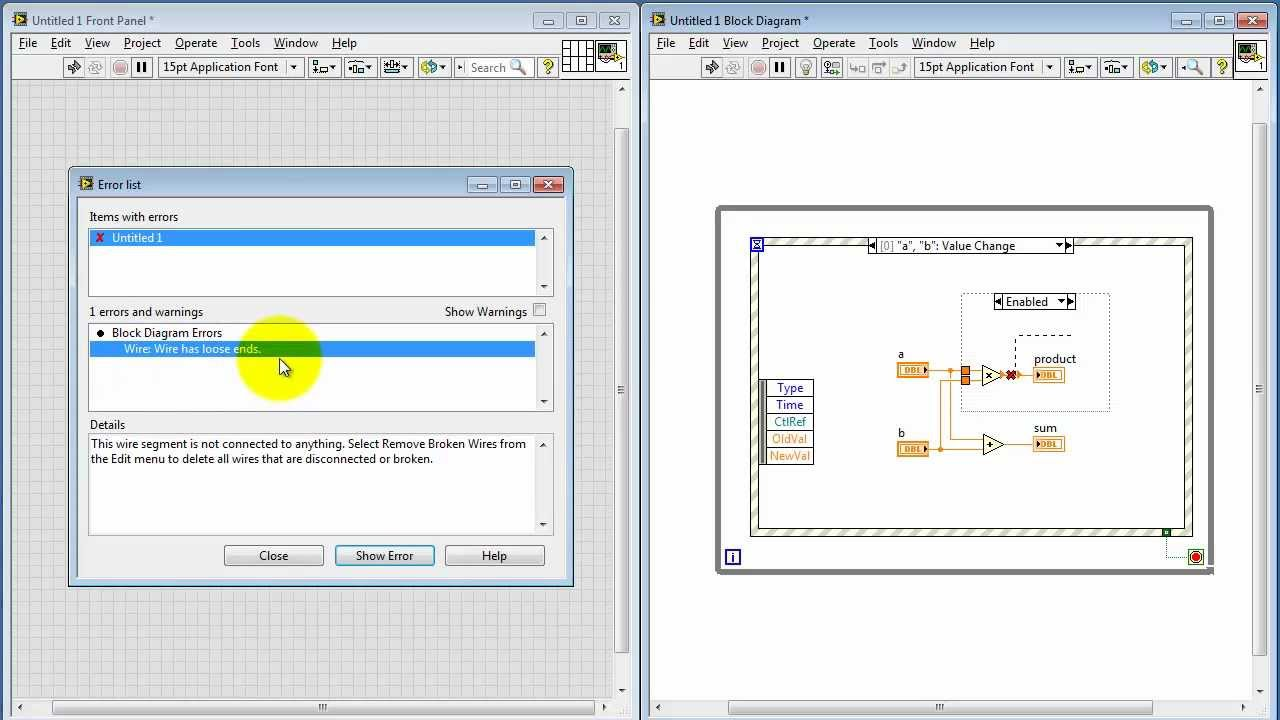 Ni Labview Diagram Disable Structure Youtube Block Program