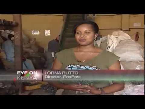 Kenya entrepreneurs turn trash to cash