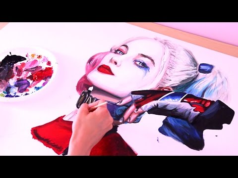 PAINTING - Suicide Squad Harley Quinn