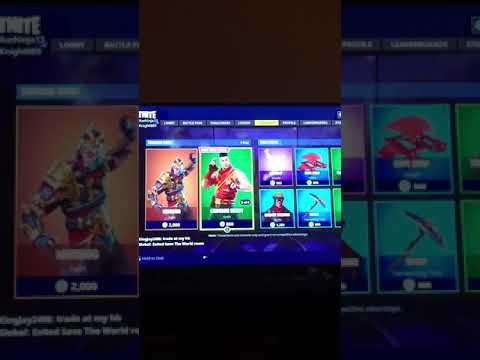 Wukong is back!! Fortnite Battle Royale item shop reset 3/20/18