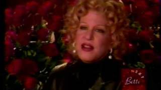 Bette Midler - Pre Diva Las Vegas Clip (1997)