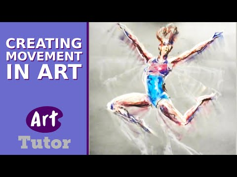 Creating Movement in Art