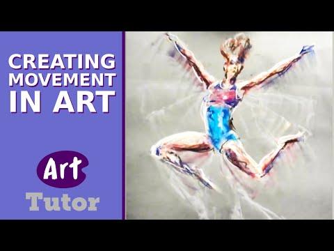 Creating Movement in Art