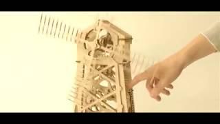 3D конструктор Мельница 3д модель обзор