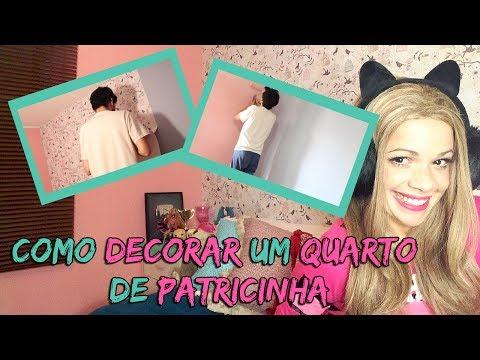 COMO DECORAR UM QUARTO DE PATRICINHA by Ashley