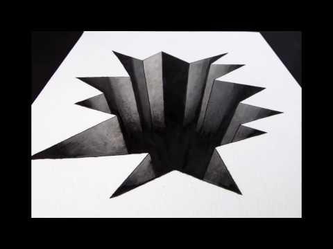 Cara Gambar 3D Sederhana di Kertas