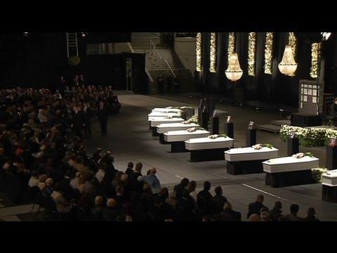 Belgique : l'hommage aux victimes du tunnel de Sierre