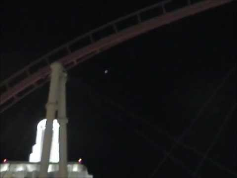 UFO over the Las Vegas Strip