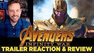 Avengers: Infinity War Trailer Reaction & Review