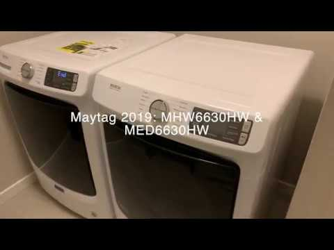 Maytag 2019 MHW6630HW & MED6630HW Review