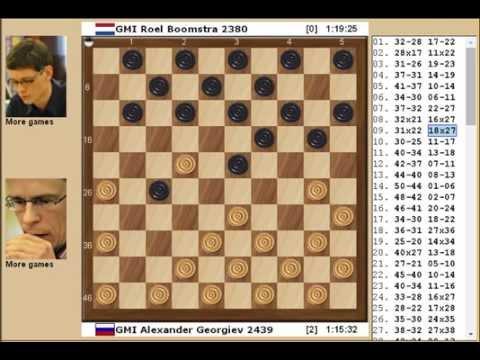 Alexander Georgiev - Roel Boomstra 2-0 Beijing  2011