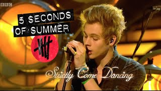 5 seconds of summer 5sos performing amnesia on strictly come dancing hd
