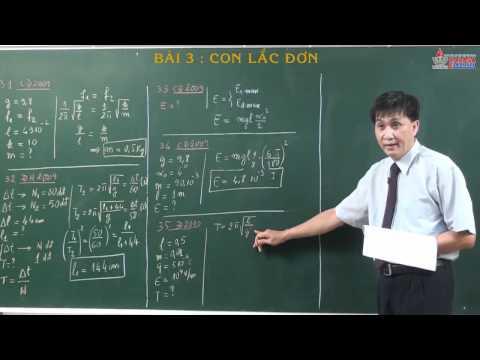 Luyện thi môn vật lý 2014 - Dao động điều hòa - Con lắc đơn - cadasa.vn