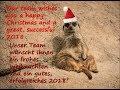 New years wishes Zoo Hoyerswerda