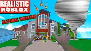 REALISTIC ROBLOX - SURVIVE THE ROBLOX DISASTER pt 3 - NATURAL DISASTERS MOD | EARTHQUAKE!