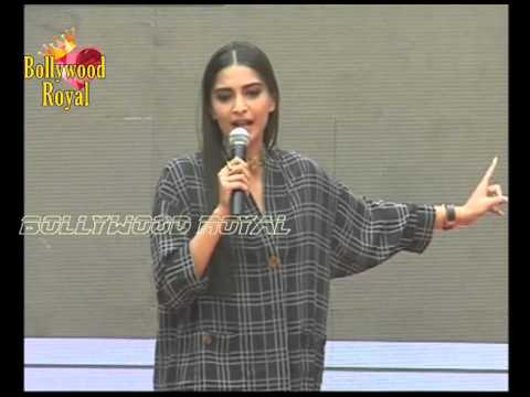Sonam Kapoor at Song Launch of the film 'Neerja' at Pillar College Part  1