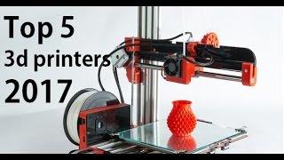 Top 5 Best Cheap 3D Printers 2017