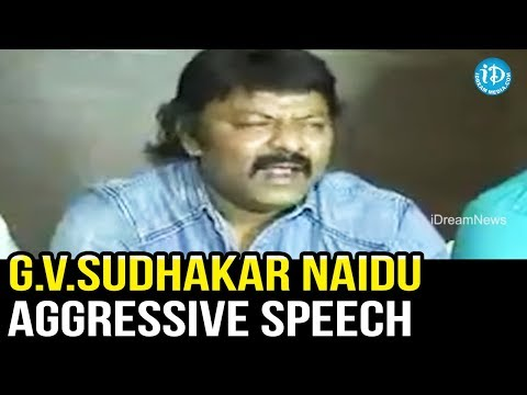 G. V. Sudhakar Naidu Aggressive Speech In Press Meet || Kapu Garjana