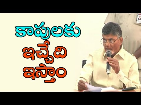 AP CM Chandrababu Naidu Speak To Media Over AP Budget 2017 | Kapu Reservations | Newsdeccan