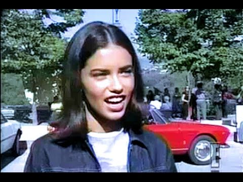 9d06302723 Adriana Lima - Age 18   How It All Started w  Victoria s Secret 1999 -  YouTube