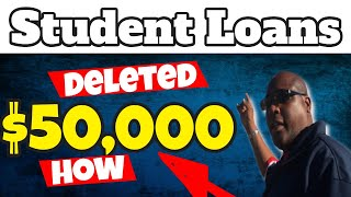 How $50k Federal Student Loan Forgiveness Can Be Deleted Without Paying It Off 2021?