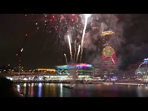 Australia Day  2019 Fireworks @ Darling Harbour Sydney