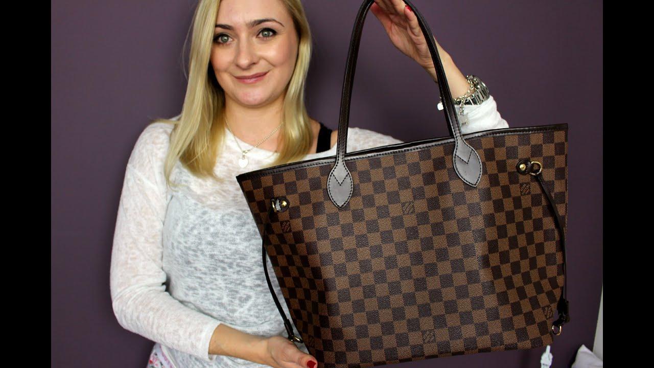 Torebka Louis Vuitton Neverfull, gdzie kupić, ile kosztuje i jak wygląda po  roku  ZNANA METKA c9d1fab6256