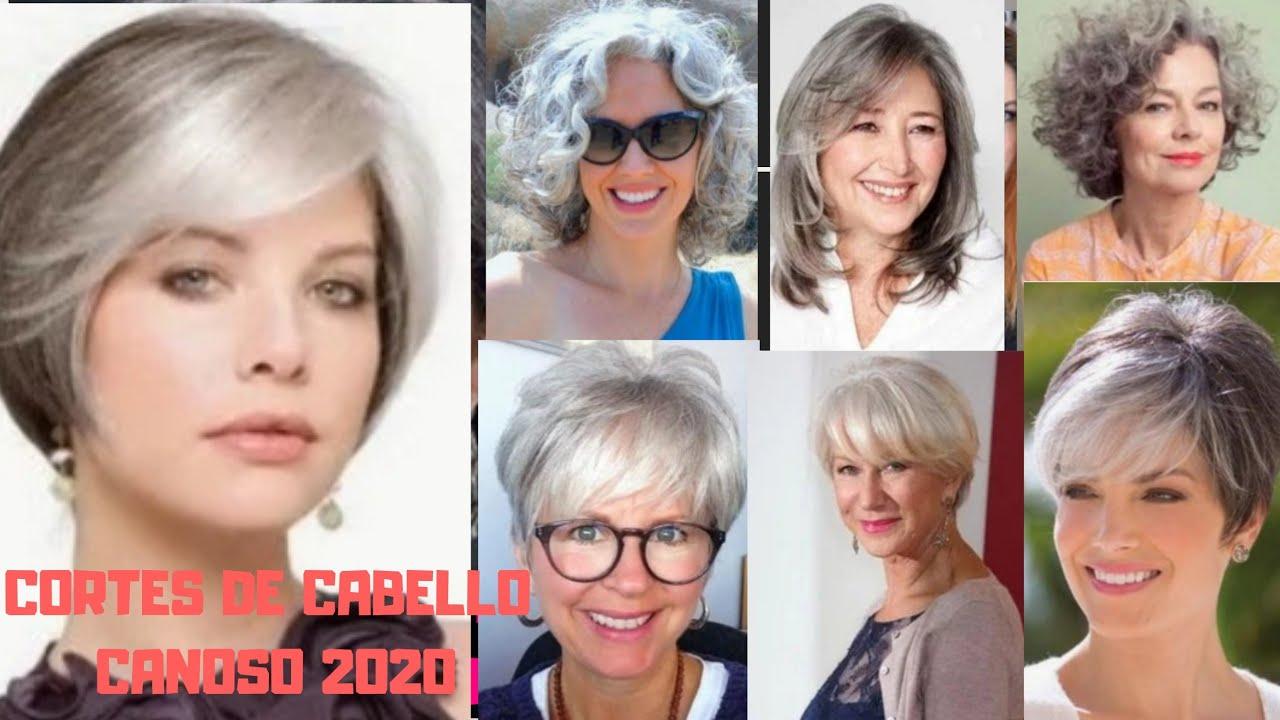Corte De Pelo 2020 2021 Señoras Mayores 50 A 80 Años Cortes De Cabello Mujer 2020 2021 Youtube