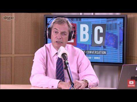 The Nigel Farage Show: Will Theresa May still be PM at Christmas? LBC - 7th November 2017