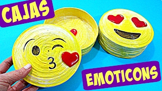CAJAS EMOTICONS (REGALO ORIGINAL) DIY