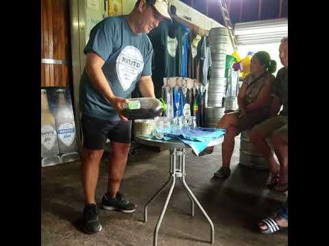 Brewery tour in Raro
