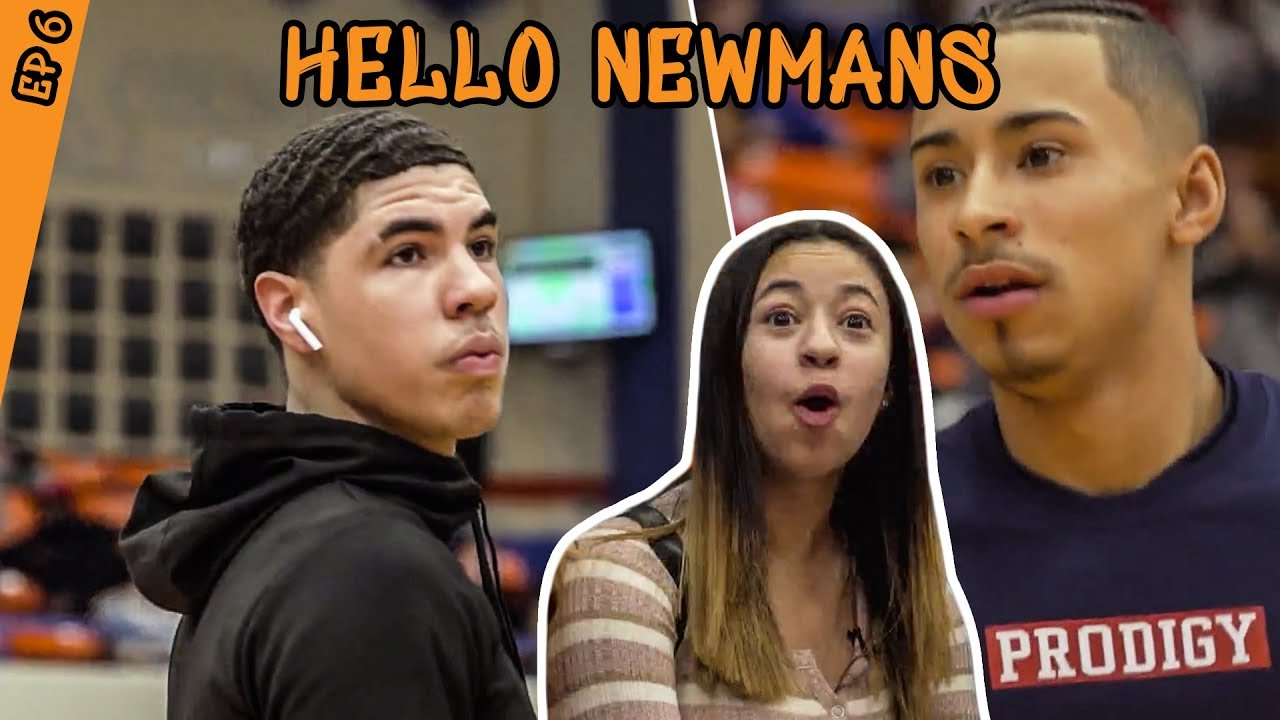 How Julian Newman Prepared To Play LAMELO BALL! Jaden Newman Has A CRUSH On Melo!? image