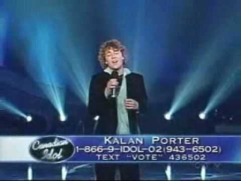Canadian Idol Kalan Porter sings I Can Only Imagine