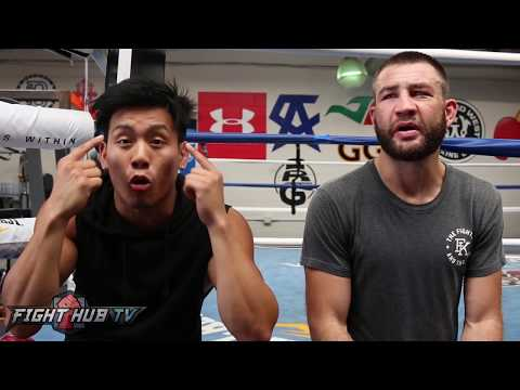 UNCUT Chris Van Heerden & Trainer Julian react to Mayweather vs McGregor fight
