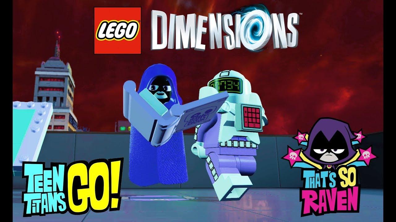 Lego Dimensions - Raven Free Roam Gameplay Teen Titans Go -8001