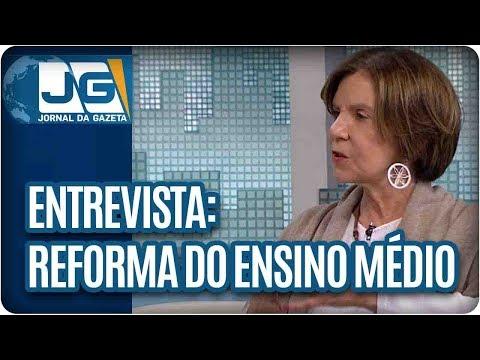 Maria Lydia entrevista Maria Alice Setúbal, socióloga, sobre a reforma do ensino médio