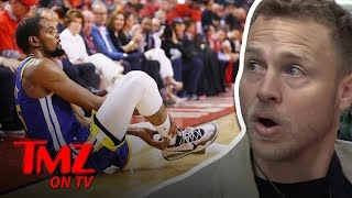 Spencer Pratt Gives Kevin Durant Healing Advice | TMZ TV