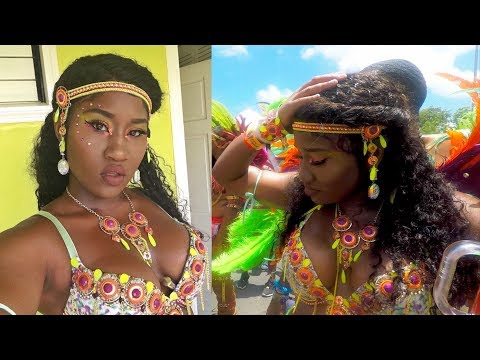 Chatty GRWM Carnival edition!| Carnival costume nip slips, The whine of my life, St Lucia carnival