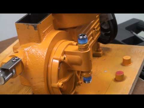Preparing a Hydraulic Diaphragm Metering Pump for Installation